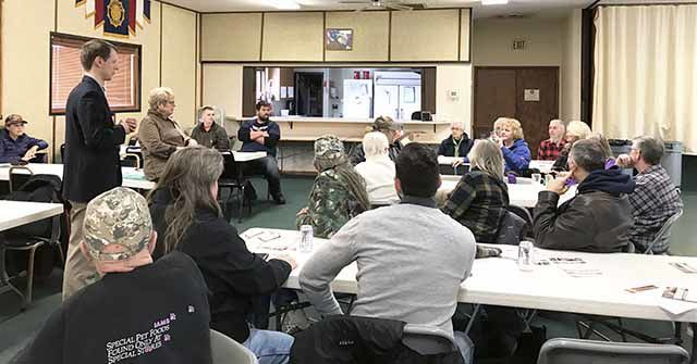 Mille Lacs County meeting