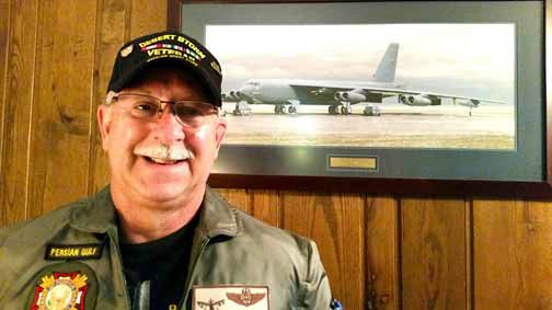 Rick Coccie, an electronic warfare officer (ret.)