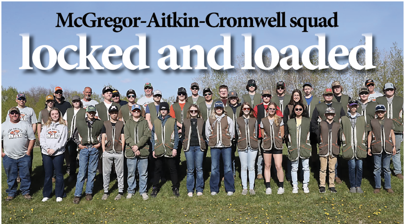 McGregor-Aitkin-Cromwell squad locked and loaded
