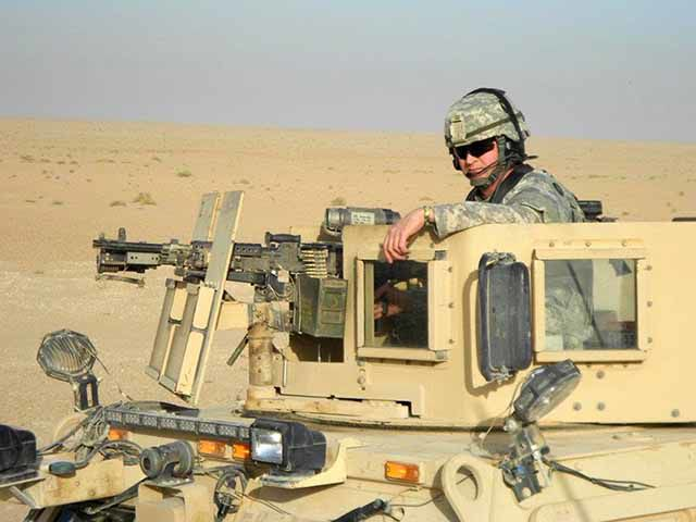 Richard Kargel - National Guard