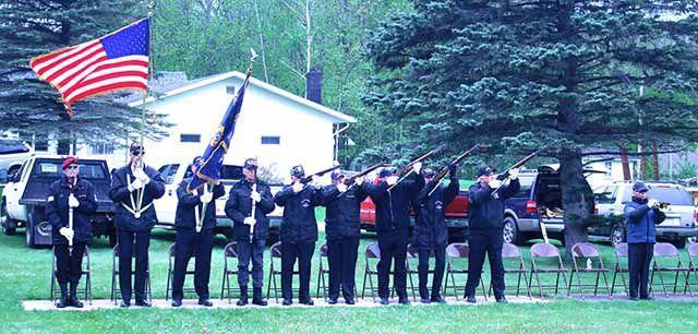 Honor Guard's presence