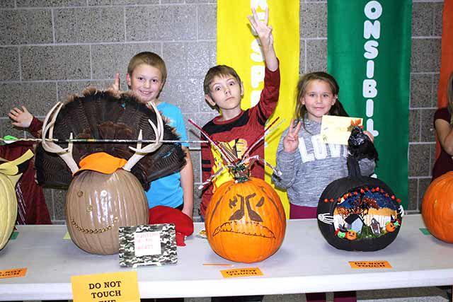 Nyquist Elementary 4th Grade Pumpkin Contest