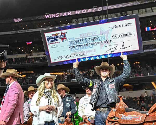 Wyatt Casper - Half a million at the rodeo