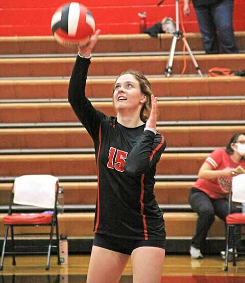 IHS Volleyball - Megan VanBuskirk