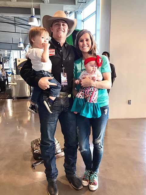 Wyatt Casper and family