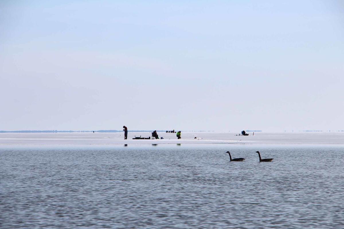Fishing fanatics