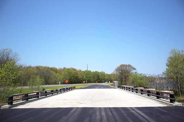 New pavement
