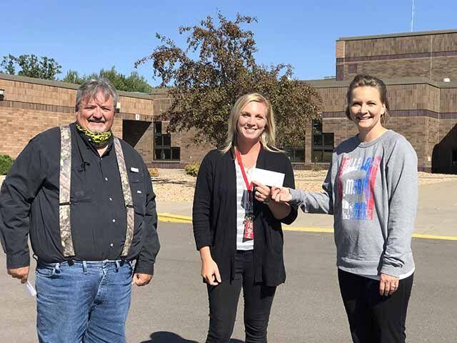 Isle School donation