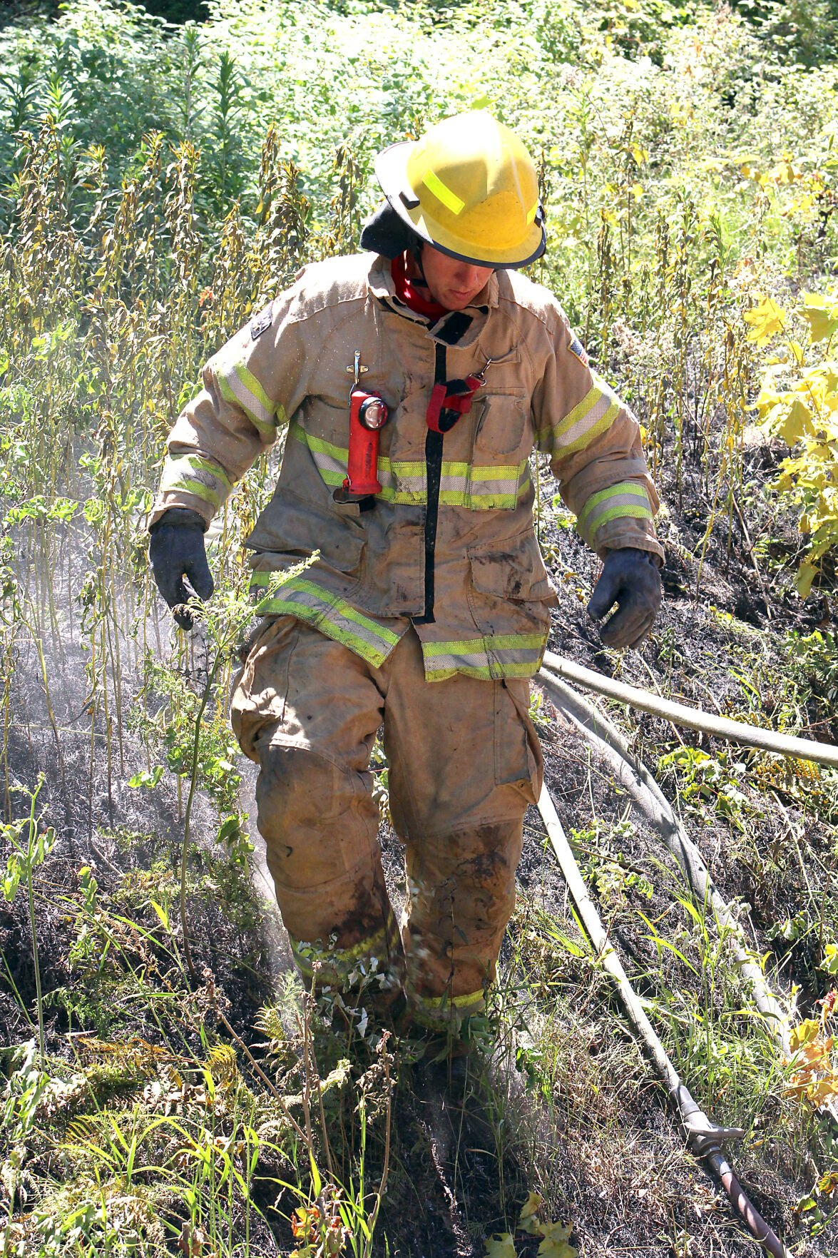 Aitkin firefighter