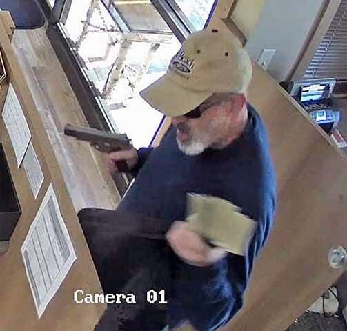 Garrison bank robbery