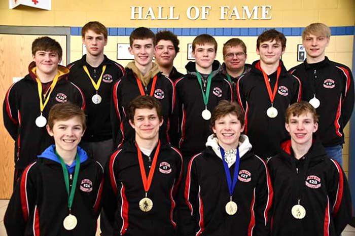 Medal winners at Howard Lake