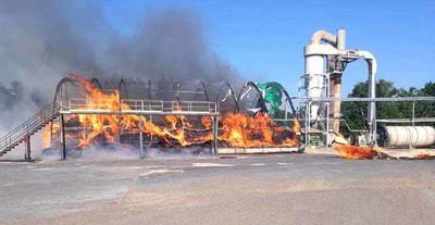 Fire at Woodline Sawmills in Onamia