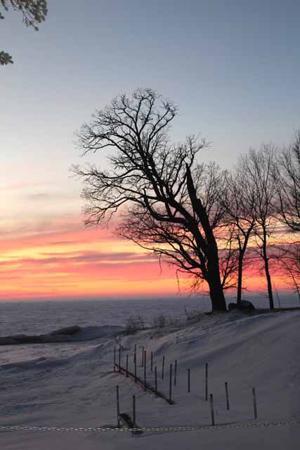 Mille Lacs Lake Sunset