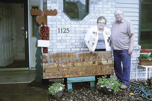 "Phyllis and Charles ""Bubbles"" Haggberg"