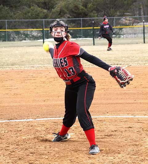 IHS Softball - Carly Gallion