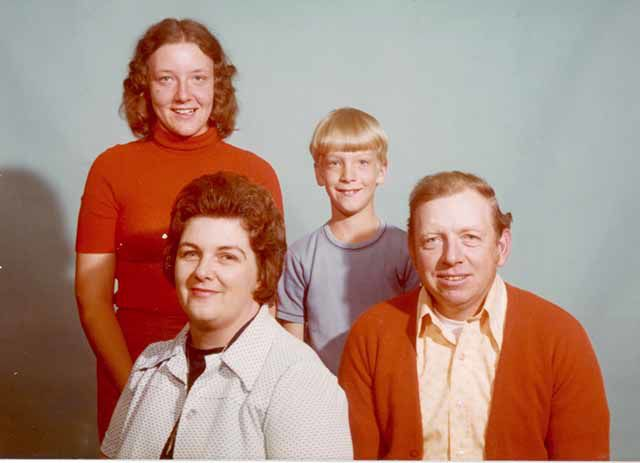 Haggberg family