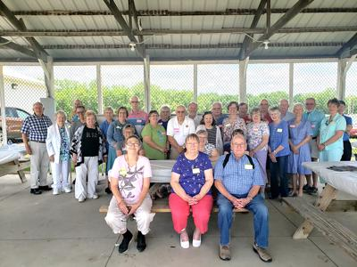 Volunteers for Aitkin County CARE were recognized during the Aitkin County Fair.