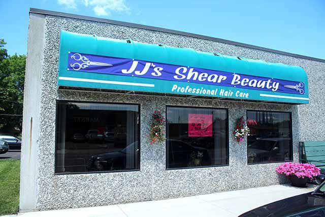 JJ's Shear Beauty - awning