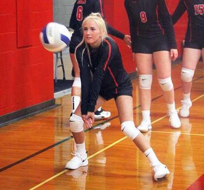 IHS Volleyball - Isabelle Krawiecki