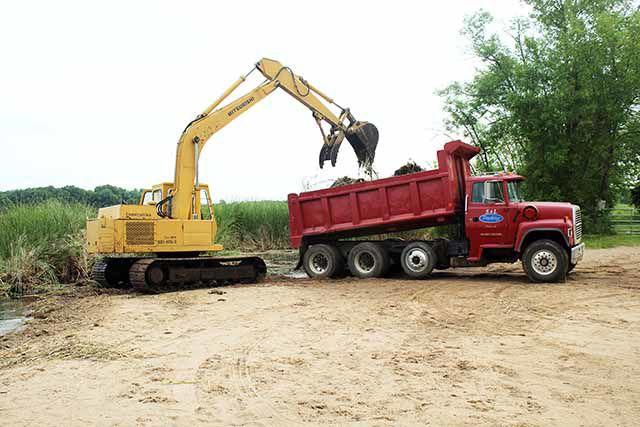Wahkon bog removal