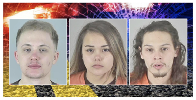Three charged in fatal hit and run