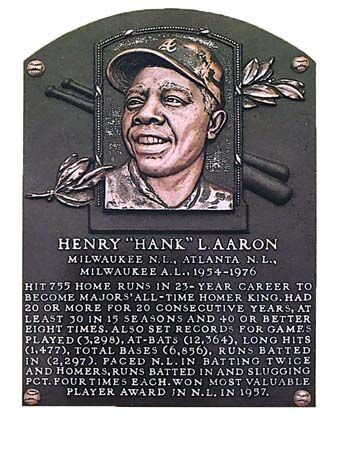 """Henry """"Hank"""" L. Aaron"""