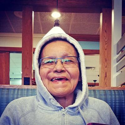 Bezhigoobiikwe, Mary Ann Bedausky, 64
