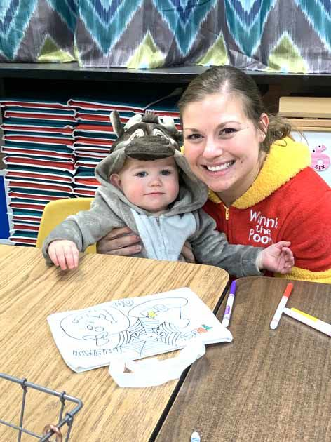 Isle Preschool October Family Fun Night