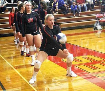 IHS Volleyball - Miranda Leach