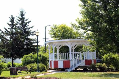 City band shell settled in new home