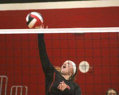 IHS Volleyball - Jill Thompson