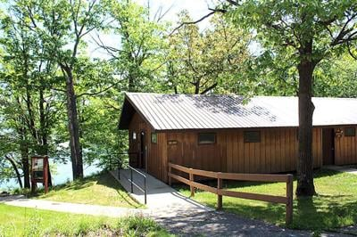 Marcum House, one of several buildings at Long Lake Conservation Center