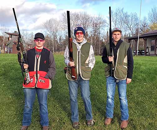 Seth Ridlon, Maciah Aldrich and Landon Sorenson