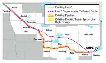 ALJ wants 'A true replacement' of Enbridge Line 3 - MessAge Media: State