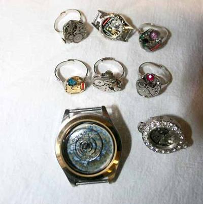 Great River Strings - steampunk jewelry