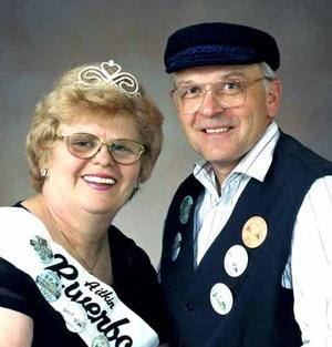 Joy and Carroll Janzen were Aitkin Riverboat Queen and Captain in 1999.