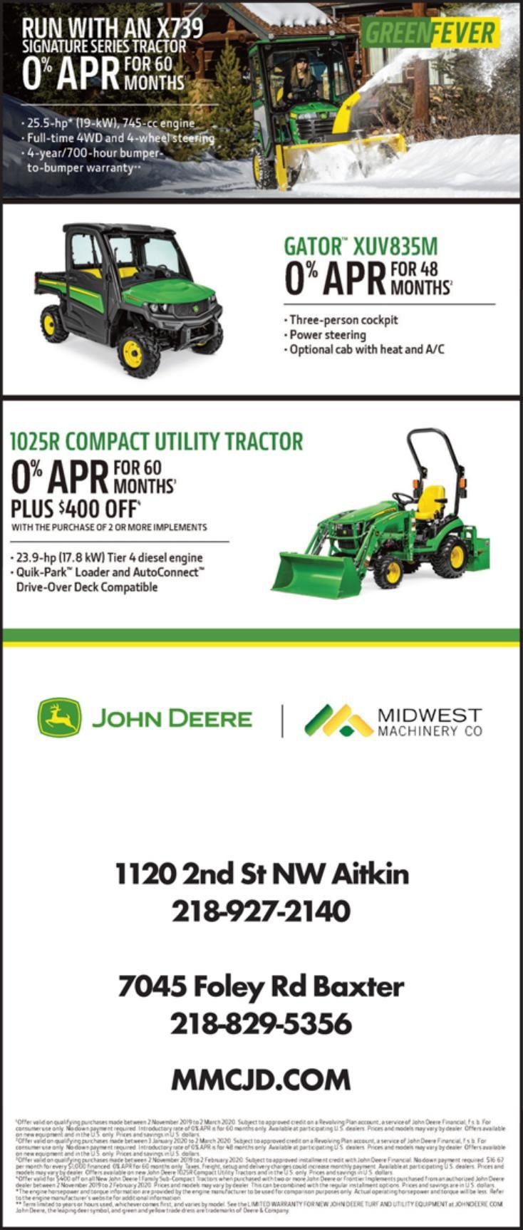 Midwest Machinery 020120