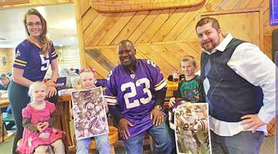 Former Viking's player Ted Brown