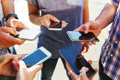 Are we looking at our phones too much?