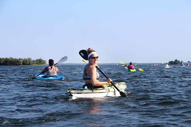 Kayaking - Justine Halvorson