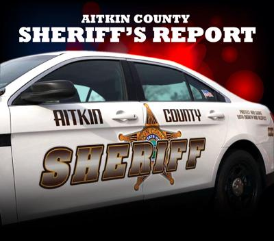 Aitkin County Sheriff's Report graphic