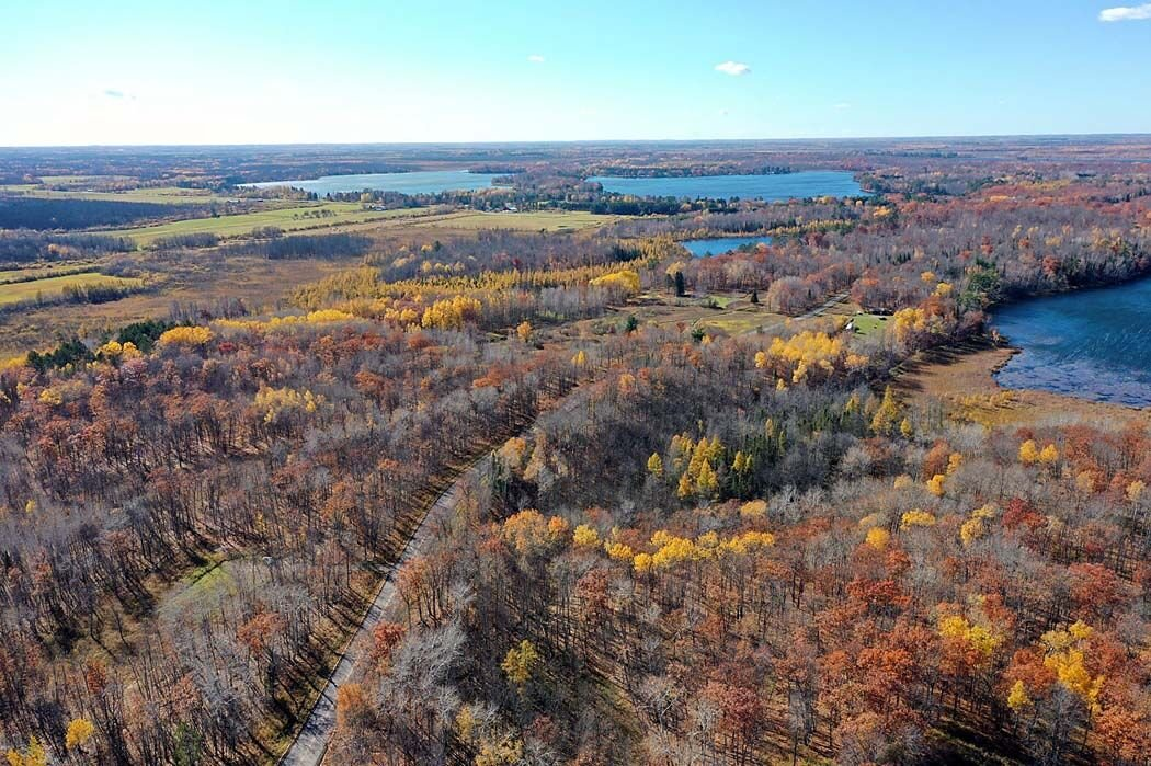 Drone view at Long Lake Conservation Center