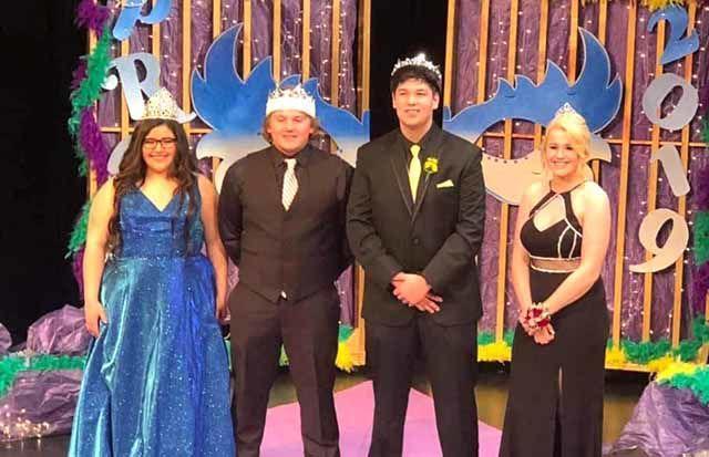 Isle High School Prom 2019 - royalty