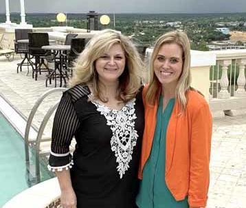Lainey Sandberg and Alesha Bates