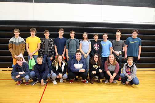 Grades nine and 10 fare well in math competition