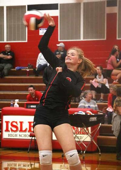 IHS Volleyball - Mary Ajax
