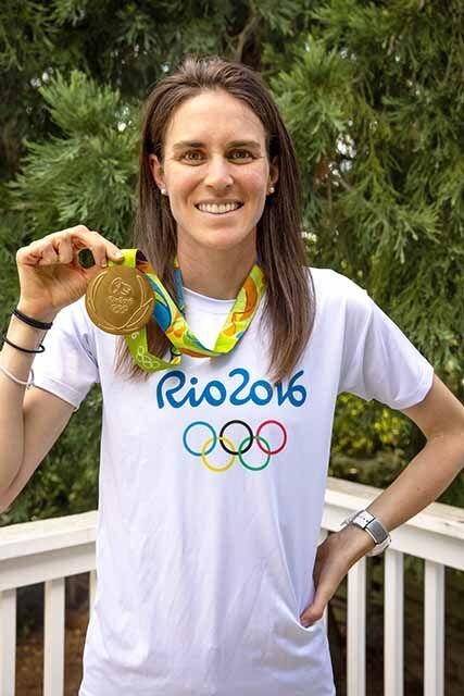 Gwen Jorgensen - medal