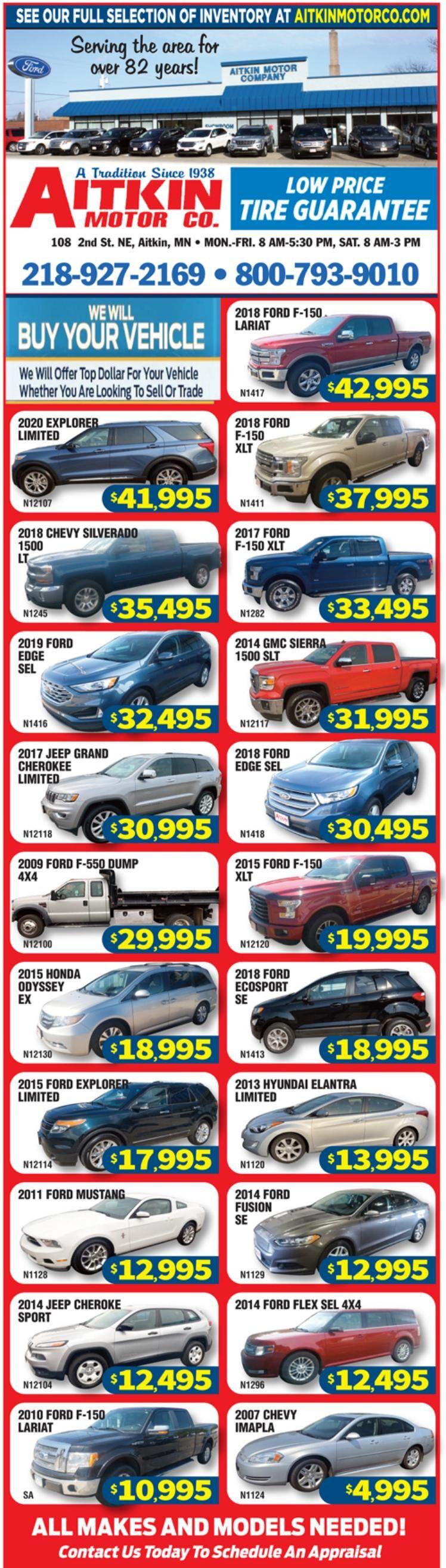 Aitkin Motors 9-4-21