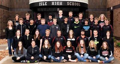 Isle High School senior class of 2016