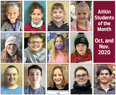 Students of the Month – October/November 2020